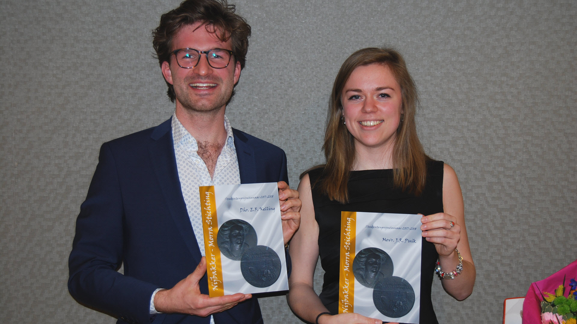 Nijbakker-Morra Stichting Prijswinnaars 2017-18.
