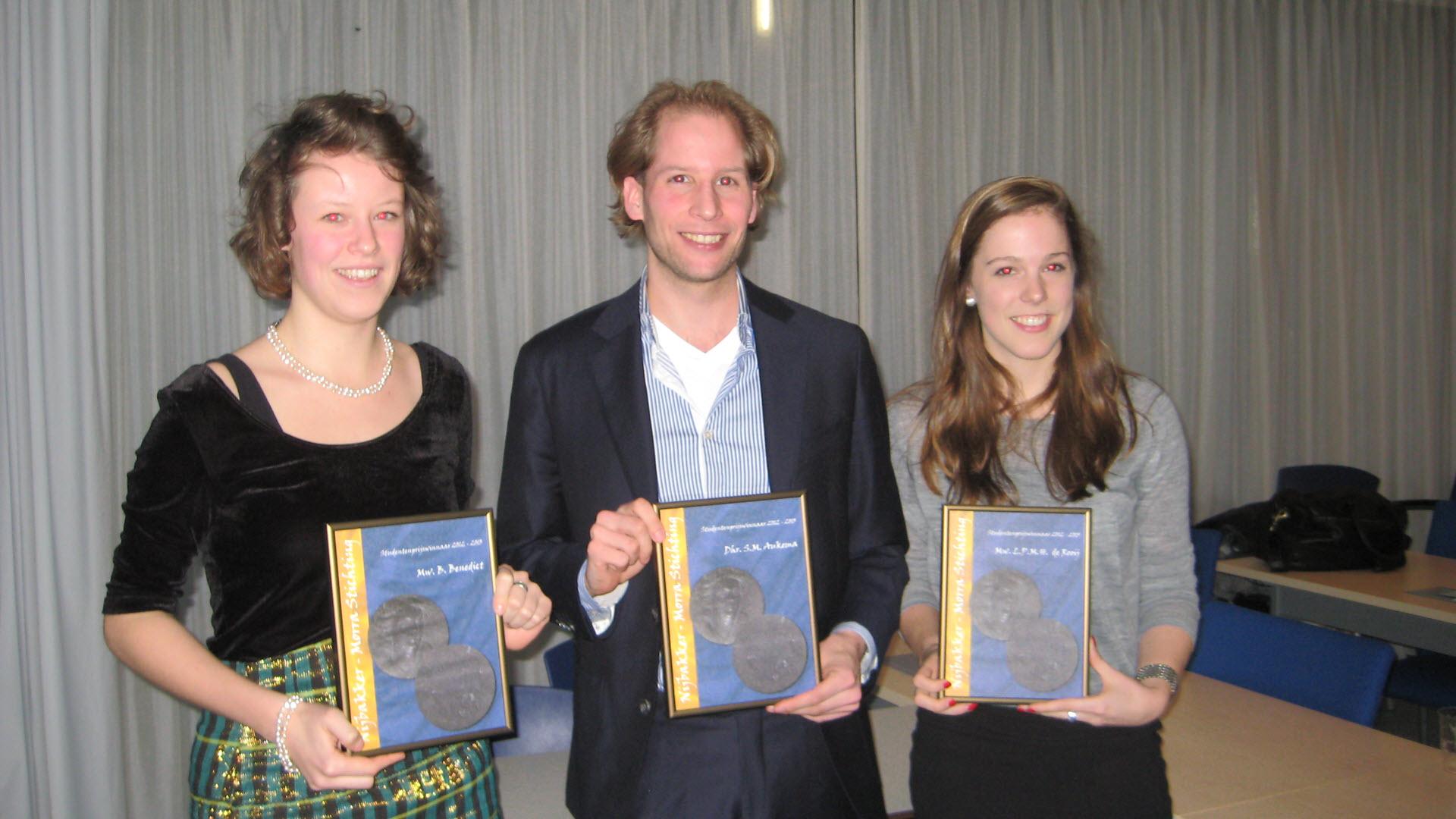 Nijbakker-Morra Stichting Prijswinnaars 2012-13