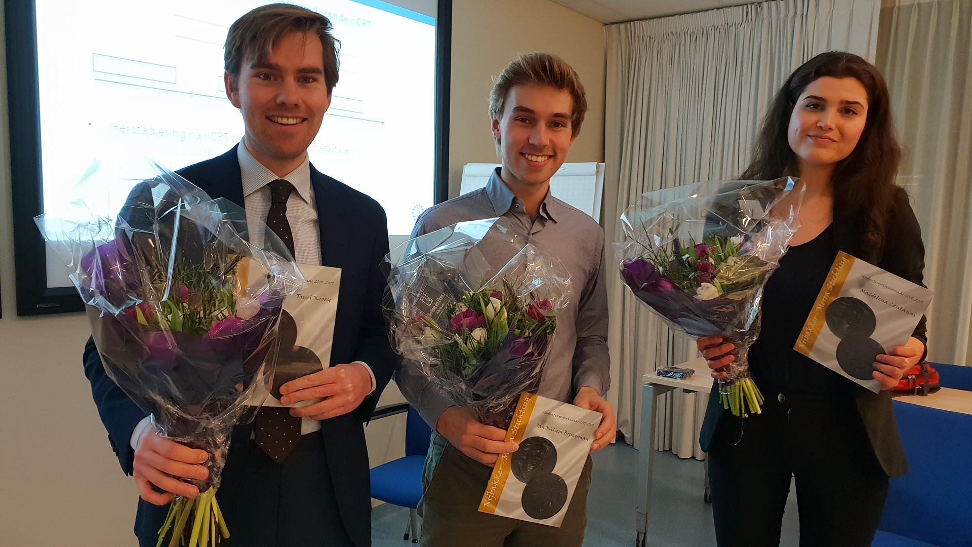 Nijbakker-Morra Stichting Prijswinnaars 2018-19